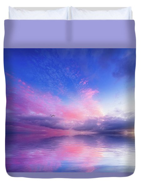 Close To Infinity Duvet Cover