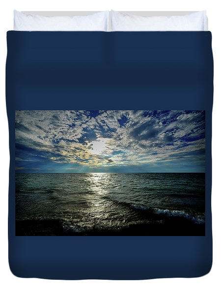 Close To Sunset... Duvet Cover