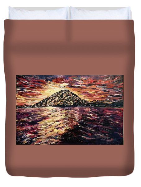 Close To You II  Duvet Cover by Belinda Low
