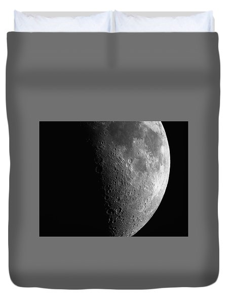 Close-up Of Moon Duvet Cover