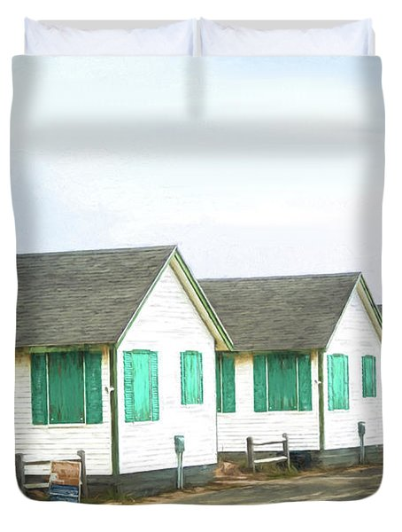 Closed For The Season #2 Duvet Cover