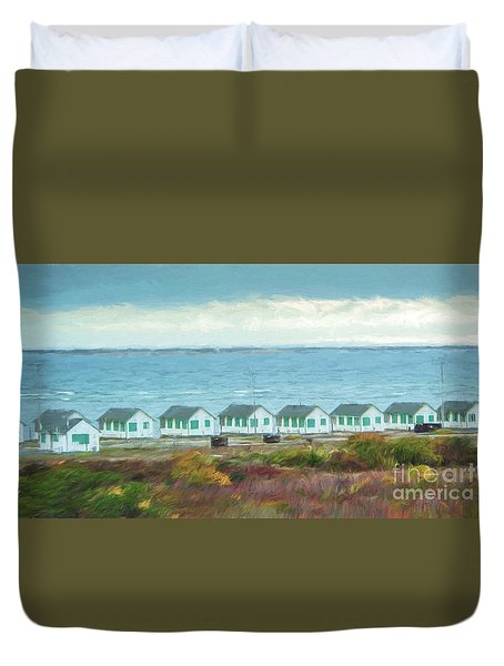 Closed For The Season Duvet Cover