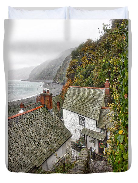 Clovelly Coastline Duvet Cover