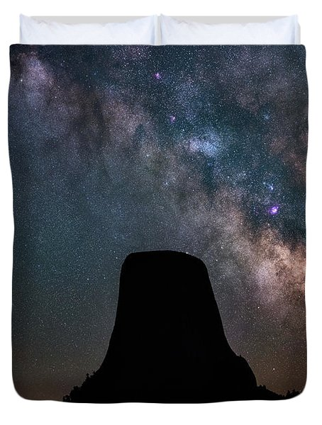 Duvet Cover featuring the photograph Closer Encounters by Darren White