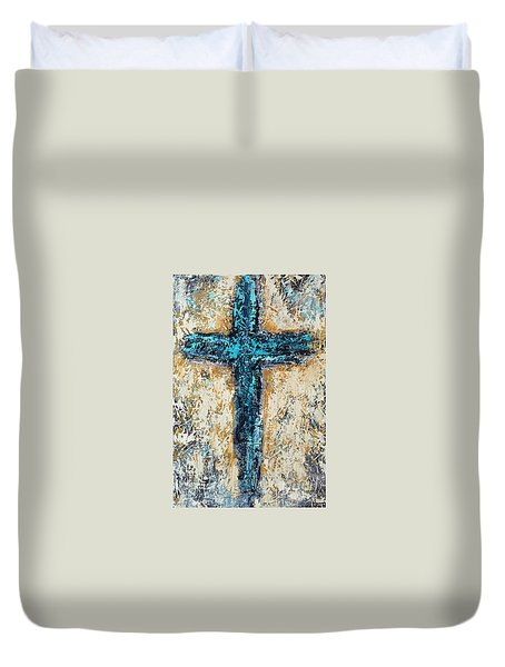 Clothe Yourself In Mercy Duvet Cover