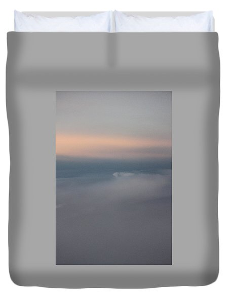 Cloud Abstract II Duvet Cover by Suzanne Gaff