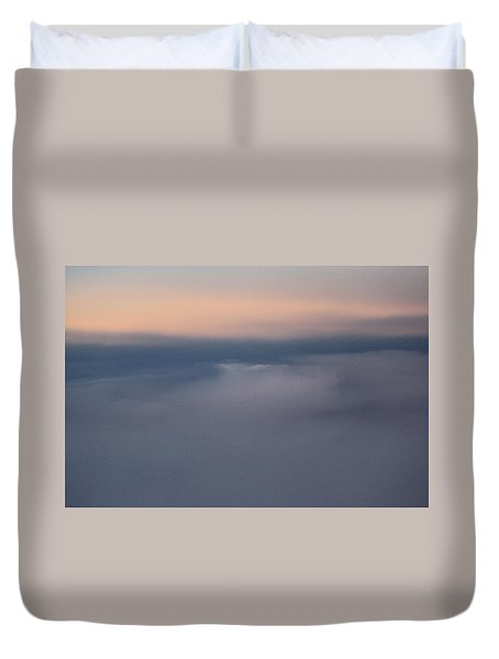 Cloud Abstract  Duvet Cover by Suzanne Gaff