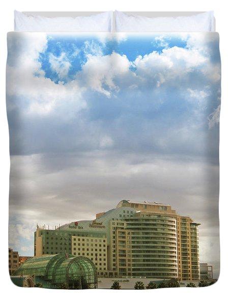 Cloud Blanket  Duvet Cover by Douglas Barnard