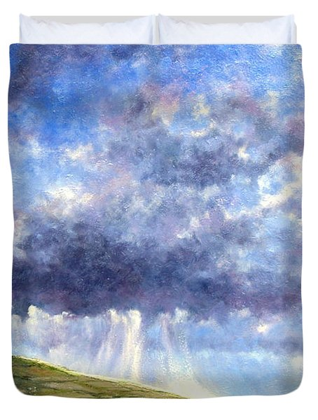 Cloud Burst Ireland Duvet Cover