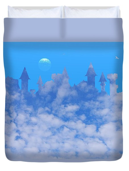 Cloud Castle Duvet Cover