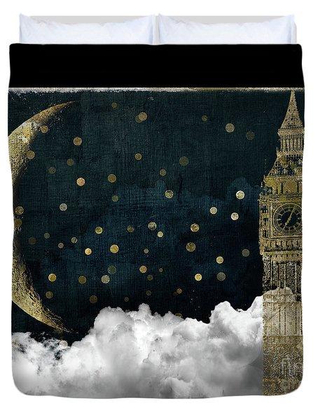 Cloud Cities London Duvet Cover
