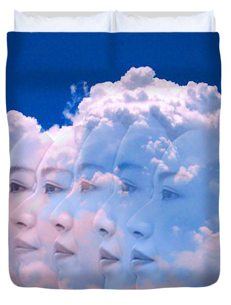 Cloud Dream Duvet Cover by Matthew Lacey