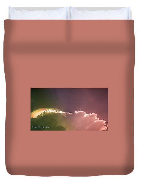 Cloud Eruption Duvet Cover