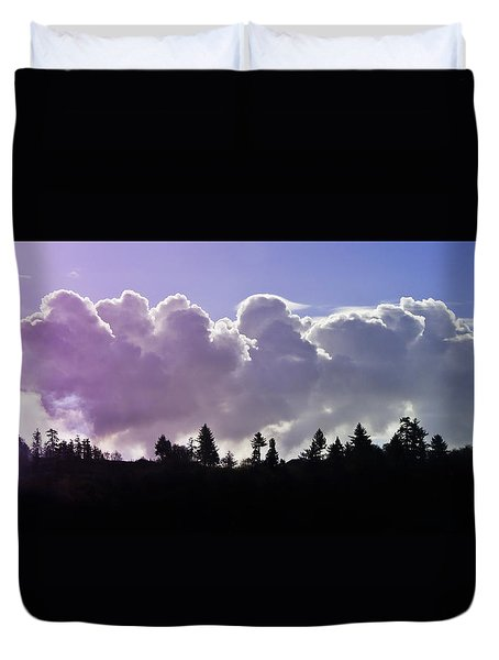 Cloud Express Duvet Cover by Adria Trail