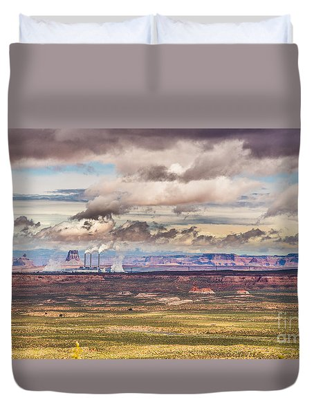 Cloud Factory Duvet Cover