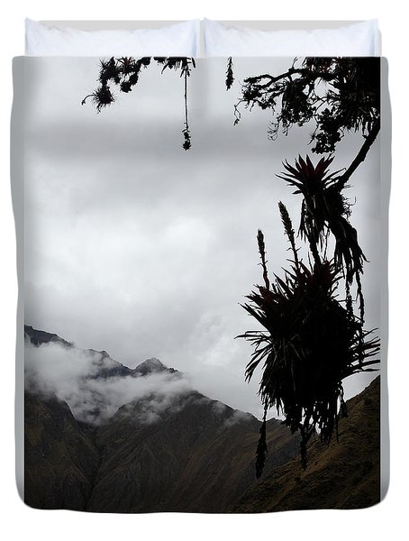 Cloud Forest Musings Duvet Cover