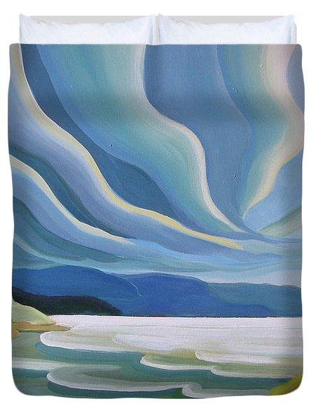 Cloud Forms Duvet Cover