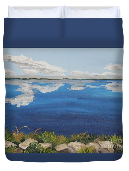 Cloud Lake Duvet Cover