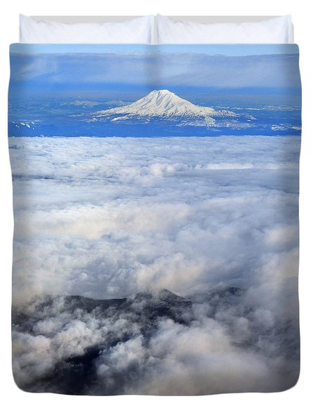 Cloud Mountain Duvet Cover