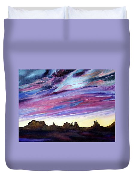 Cloud Movement Duvet Cover