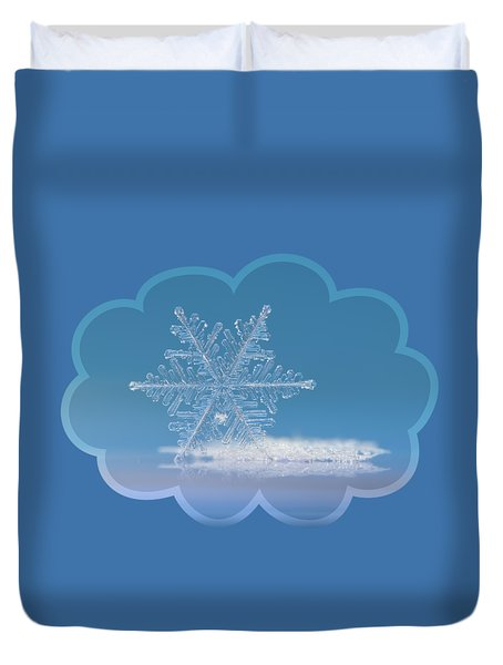 Cloud Number Nine, Panoramic Version Duvet Cover