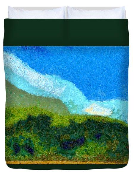 Cloud River Duvet Cover