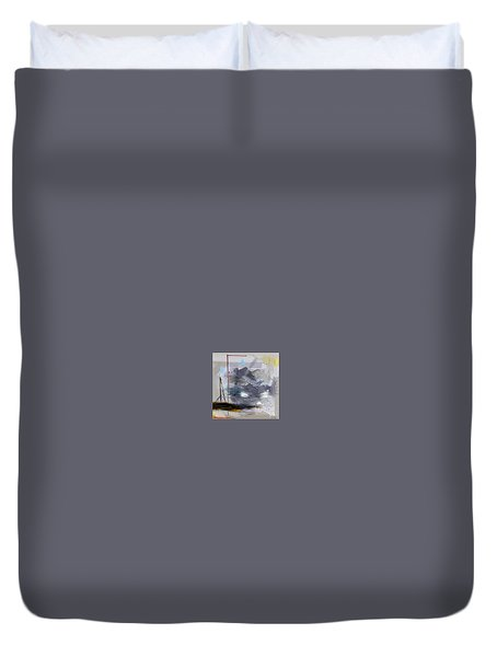 Duvet Cover featuring the digital art Cloud by Robert Anderson
