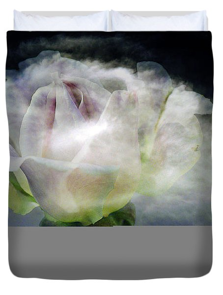 Cloud Rose Duvet Cover by Clayton Bruster