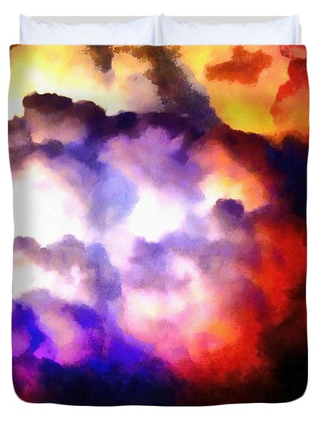 Cloud Sculpting 1 Duvet Cover