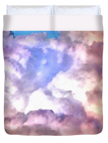 Cloud Sculpting 2 Duvet Cover