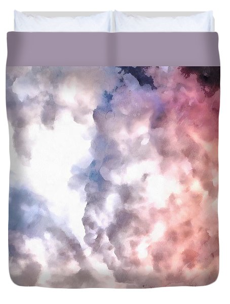 Cloud Sculpting 3 Duvet Cover