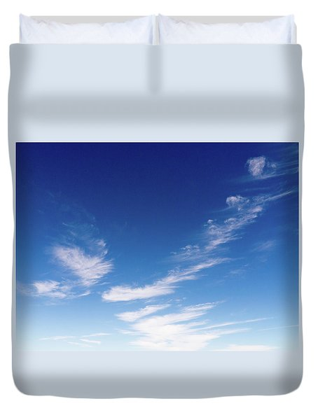 Cloud Sculpting Duvet Cover