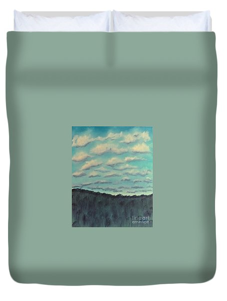 Cloud Study Duvet Cover