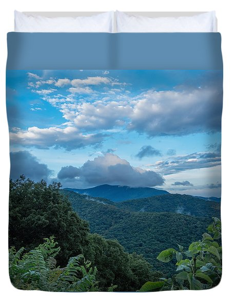 Cloud Top Duvet Cover