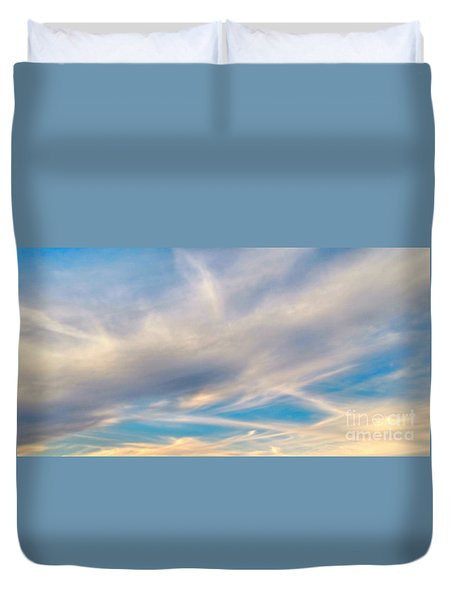 Cloud Wisps Duvet Cover