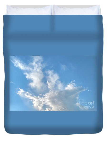 Cloud Wisps Too Duvet Cover