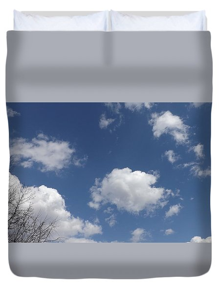 Cloudbank 3 Duvet Cover