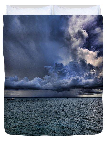 Cloudburst Duvet Cover by Douglas Barnard