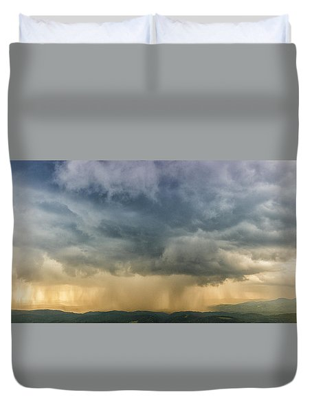 Storm Clouds - Blue Ridge Parkway Duvet Cover