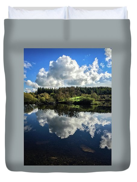 Clouded Visions Duvet Cover