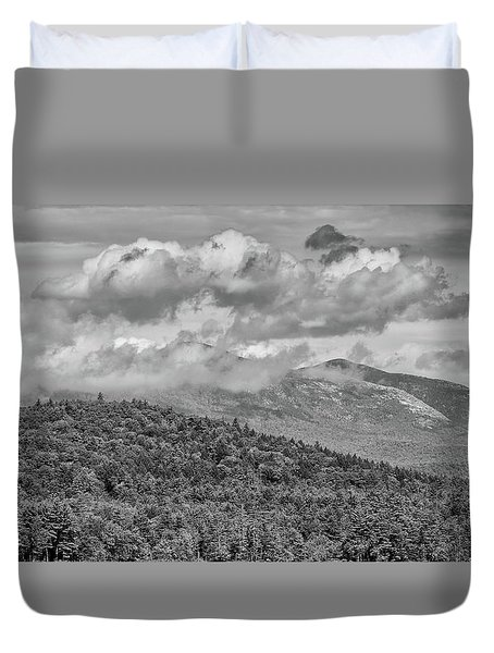 Clouds Above Duvet Cover