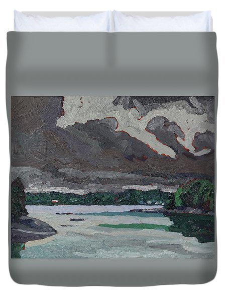 Clouds And Drizzle Duvet Cover