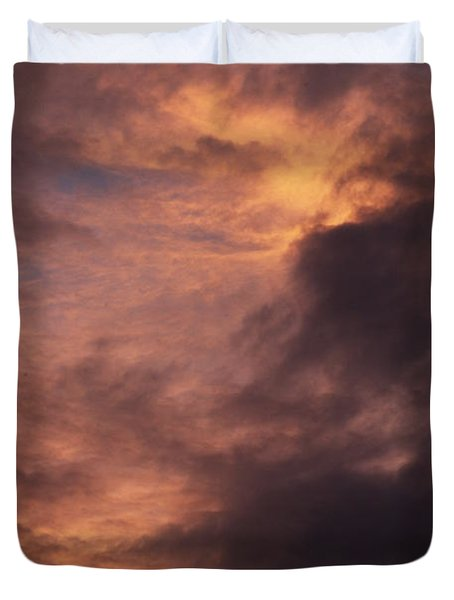 Clouds Duvet Cover by Clayton Bruster