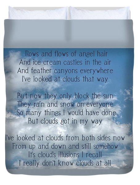 Clouds Illusions Duvet Cover