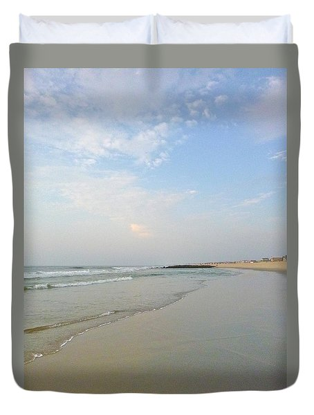Clouds In The Sand 2 Duvet Cover