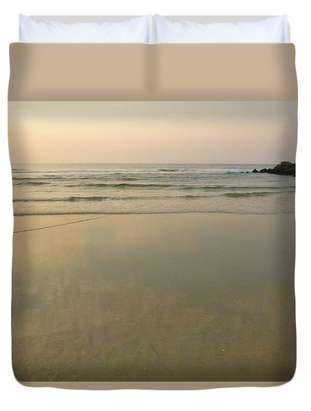 Clouds In The Sand Duvet Cover