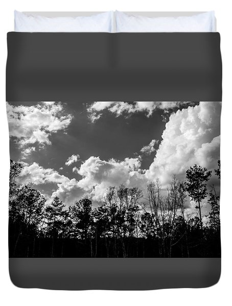 Clouds Duvet Cover