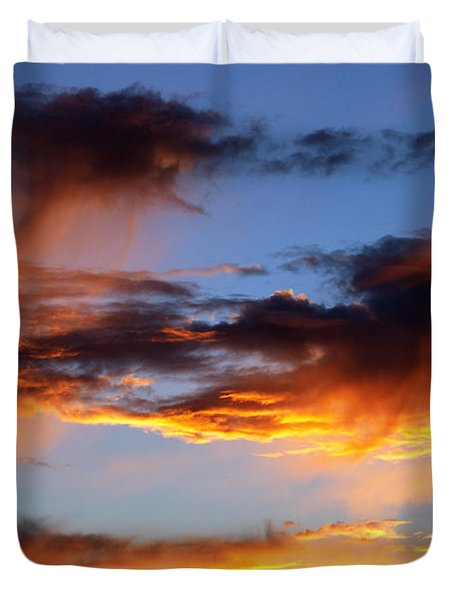 Clouds Duvet Cover by Michal Boubin