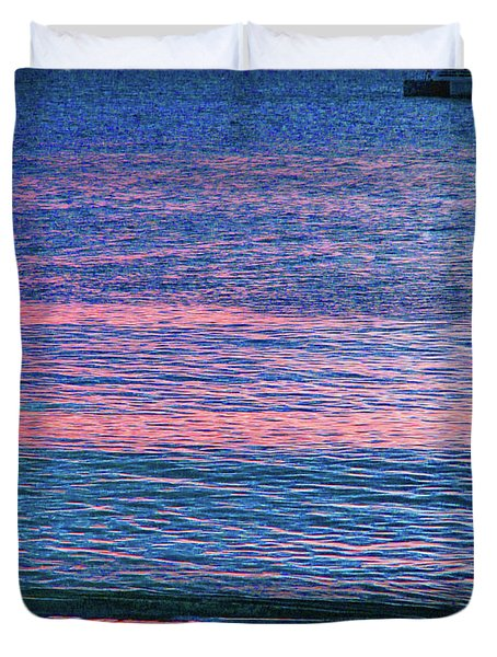 Clouds On The Horizon Duvet Cover