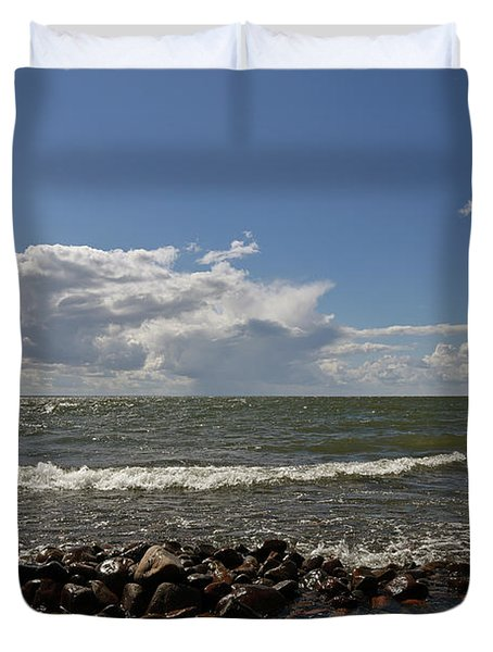 Clouds Over Sea Duvet Cover